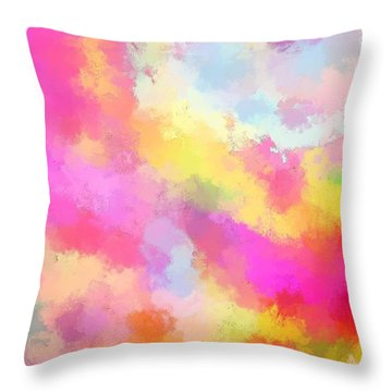 Above All Throw Pillow