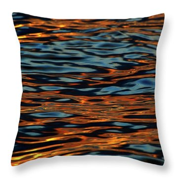 Above And Below The Waves  Throw Pillow by Lyle Crump