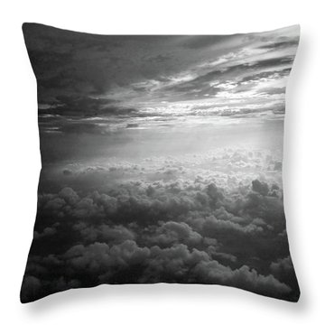 Above Earth 3 Throw Pillow