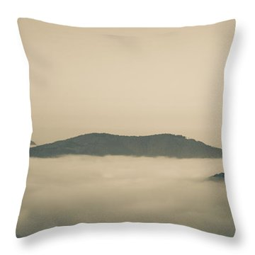 Above Everything Throw Pillow by Gabriela Insuratelu