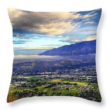 Above It All Throw Pillow by Joseph Hollingsworth