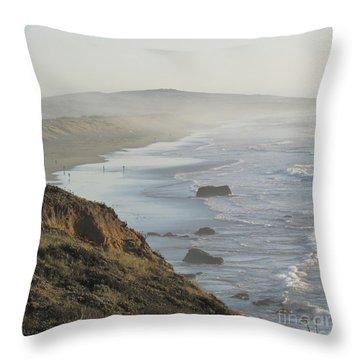Looking Toward San Francisco Throw Pillow