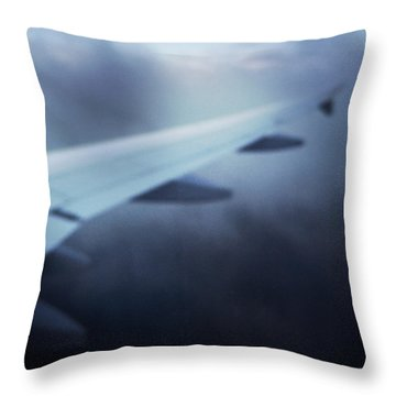 Above The Clouds 04 - Dreaming Throw Pillow by Matthias Hauser