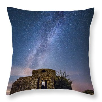 Above The Cuba Throw Pillow