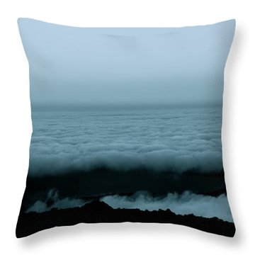 Above The Darkness Throw Pillow
