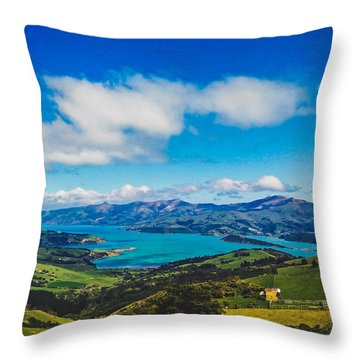 Above To Below Throw Pillow