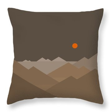 Throw Pillow featuring the digital art Above by Val Arie