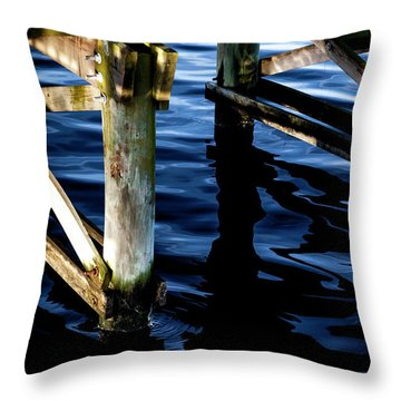 Throw Pillow featuring the photograph Above Water by Eric Christopher Jackson