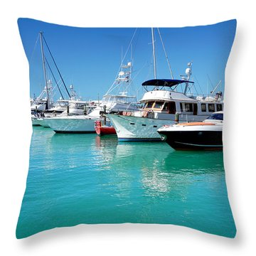 Above Water Throw Pillow