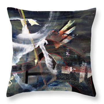 Abracadabra Throw Pillow by Antonio Ortiz