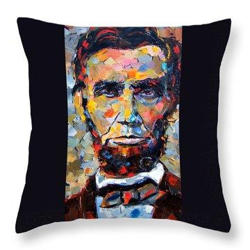 Abraham Lincoln Throw Pillows