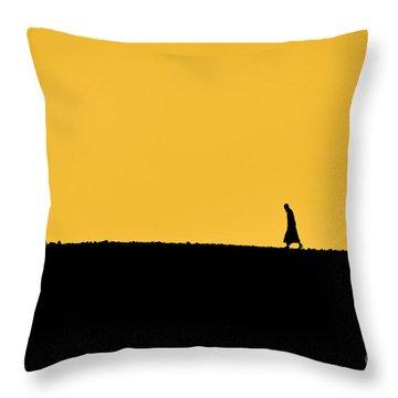 Abraham's Journey Throw Pillow