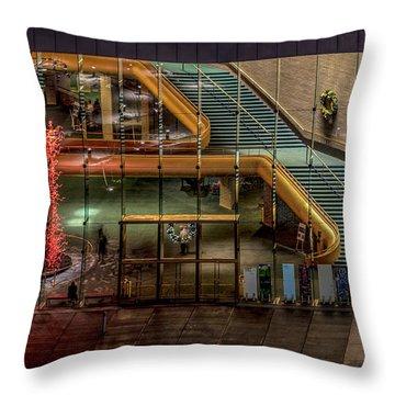 Abravanel Hall Throw Pillow
