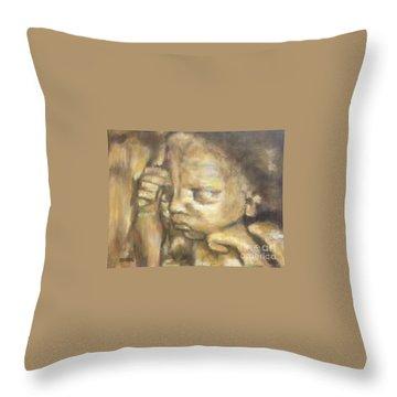 Abren 3d Throw Pillow
