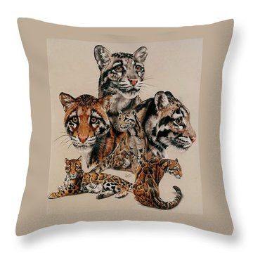Absence Of Fear Throw Pillow