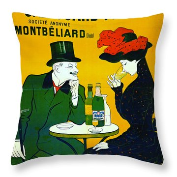 Absinthe Extra-superieure 1899 Throw Pillow by Padre Art