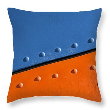 Absolutely Riveting Throw Pillow