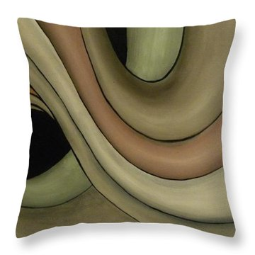 Abstraccion  Throw Pillow