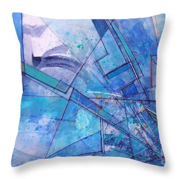 Abstract # 246 Throw Pillow
