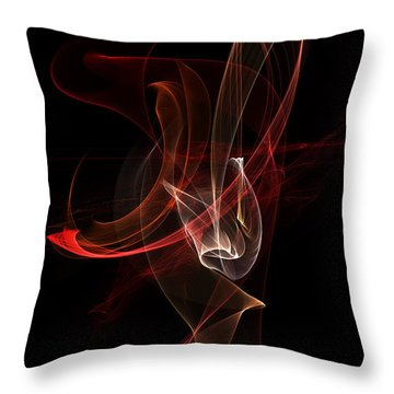 Abstract 01 Throw Pillow by Gordon Engebretson