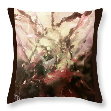 Abstract #01 Throw Pillow by Raymond Doward
