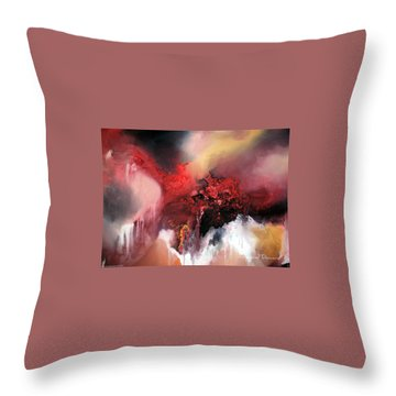 Abstract #02 Throw Pillow by Raymond Doward