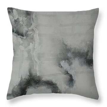 Abstract #03 Throw Pillow by Raymond Doward