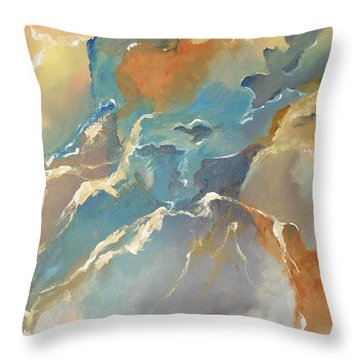 Abstract #04 Throw Pillow by Raymond Doward