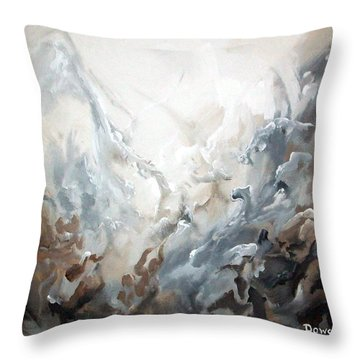 Abstract #05 Throw Pillow by Raymond Doward