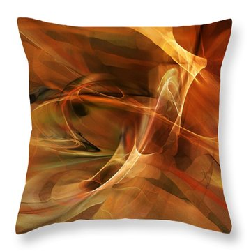 Abstract 060812a Throw Pillow