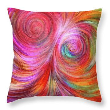 Abstract 072817 Throw Pillow