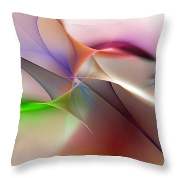 Abstract 082710 Throw Pillow