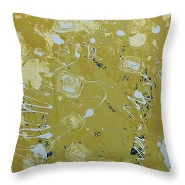 Abstract 1014 Throw Pillow by Gallery Messina