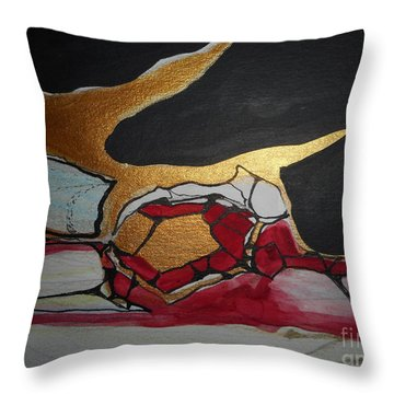 Abstract-11 Throw Pillow