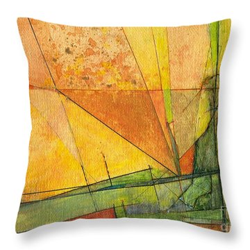 Abstract #11 Throw Pillow