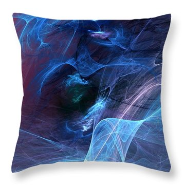 Abstract 111610 Throw Pillow by David Lane
