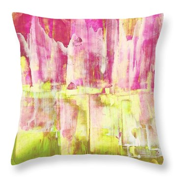 Give Me A Chance Throw Pillow