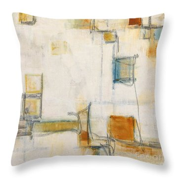 Abstract 1207 Throw Pillow by Gallery Messina