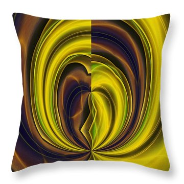 Abstract 121510 Throw Pillow