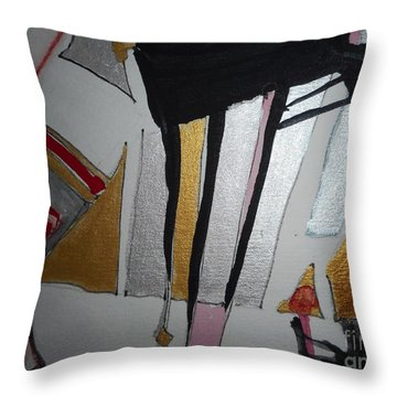 Abstract-13 Throw Pillow