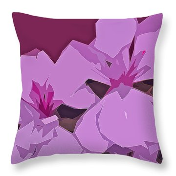 Abstract 144 Throw Pillow by Pamela Cooper