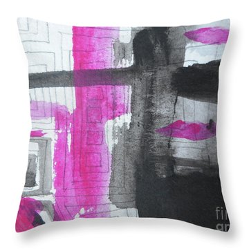 Abstract-15 Throw Pillow