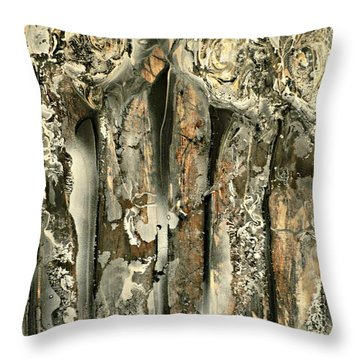 Unveiling Throw Pillow