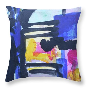 Abstract-16 Throw Pillow