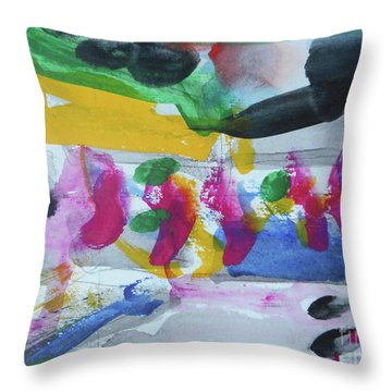 Abstract-17 Throw Pillow
