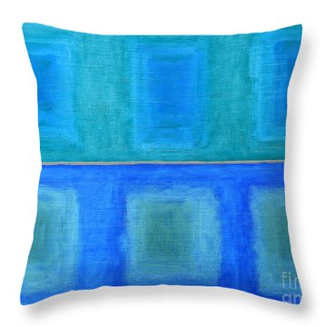 Abstract 184 Throw Pillow by Patrick J Murphy