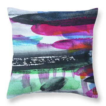 Abstract-19 Throw Pillow