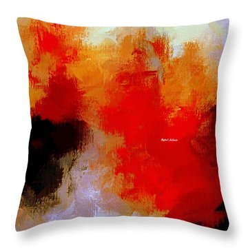 Throw Pillow featuring the digital art Abstract 1909f by Rafael Salazar