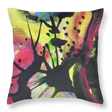 Abstract-2 Throw Pillow