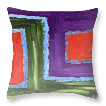 Abstract 200 Throw Pillow by Patrick J Murphy